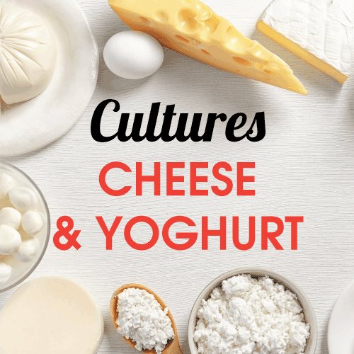 Cultures - Cheese & Yoghurt