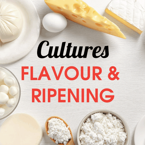 Cultures - Flavour & Ripening